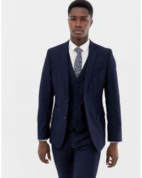 French Connection - Plain Suit Jacket - Lyst