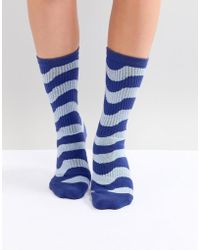 House of Holland - Wave Socks - Lyst