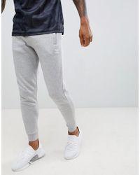 adidas Originals - Jersey Joggers In Grey Dn6010 - Lyst