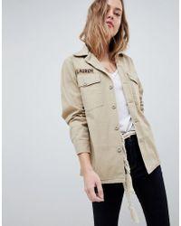 Polo Ralph Lauren - Field Jacket With Logo - Lyst