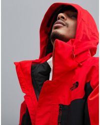 The North Face - Chaqueta roja Clement Triclimate de - Lyst