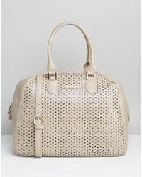 Silvian Heach - Perforated Handheld Bag - Lyst