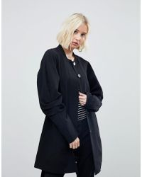 Vero Moda - Coat With Volumous Sleeves - Lyst
