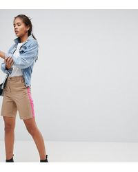 ASOS - Asos Design Tall City Shorts With Side Stripe - Lyst