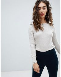 Mango - Mini Pom Detail Jumper - Lyst