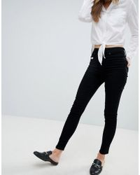 Oasis - High Waist Skinny Jeans - Lyst