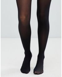 ASOS - Recycled 40 Denier Tights With Bum Tum Thigh Support - Lyst