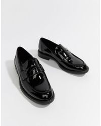 Vagabond - Amina Patent Leather Loafer - Lyst