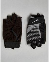 Nike - Core Lock Gloves In Grey Lg.38-032 - Lyst