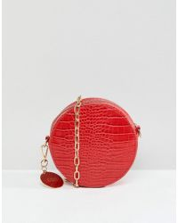 Faith | Circle Cross Body Bag With Chain Strap | Lyst