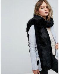 ALDO - Pacitto Long Faux Fur Scarf - Lyst