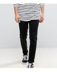 Nudie Jeans - Co Lean Dean Slim Tapered Fit Jeans In Dry Cold Black - Lyst