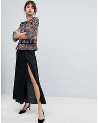 d.RA - Polina Maxi Slit Side Skirt - Lyst