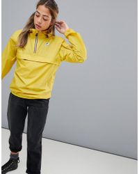 K-Way - Yellow Mustard Le Vrai Leon 3.0 Jacket - Lyst