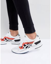 Asics - Gel-lyte V Trainers In White H831y-0101 - Lyst