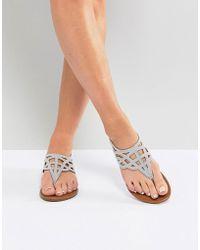 Madden Girl - Earrla Flat Sandal - Lyst
