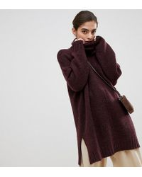 Micha Lounge - Luxe High Neck Oversized Jumper - Lyst