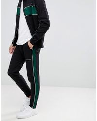 Bellfield | Panelled Track Jogger In Straight Fit | Lyst