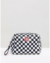 Tommy Hilfiger - Checkerboard Make Up Case - Lyst