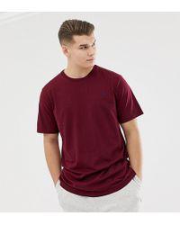 80efdedb8 Polo Ralph Lauren - Big & Tall Player Logo Crew Neck T-shirt In Burgundy