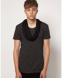 Unconditional - Inserted Scarf T-shirt - Lyst