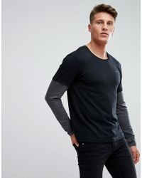 Esprit - Long Sleeve T-shirt With Double Sleeve - Lyst