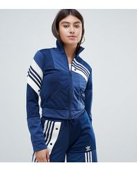 adidas Originals - X Danielle Cathari Deconstructed Track Top In Navy - Lyst