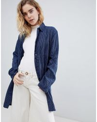 Bethnals - Graham Stripe Duster Jacket - Lyst