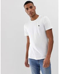 27b1c4c82 Abercrombie & Fitch Long Sleeve Top Slim Fit Legacy Print In White in White  for Men - Lyst