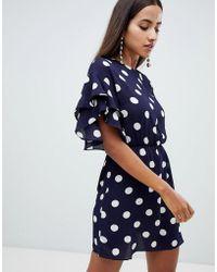 AX Paris - Polka Dot Shift Dress - Lyst
