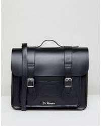 Dr. Martens - 15 Inch Leather Satchel - Lyst