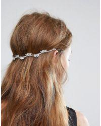 New Look - Sparkle Back Hair Clips - Lyst