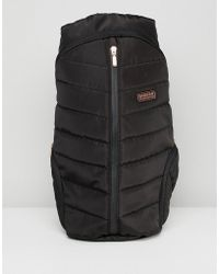 Barbour - International Quilted Backpack - Lyst