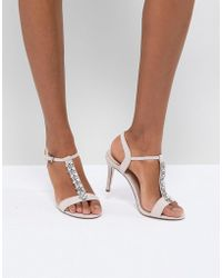Coast - Embellished Heel Shoes - Lyst