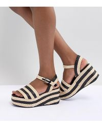 Sixtyseven - Sixty Seven Heeled Wedge Sandals - Lyst