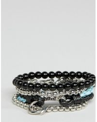 ALDO | Beaded Bracelets In 4 Pack | Lyst