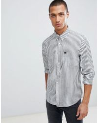 Lee Jeans - Jeans Striped Shirt - Lyst