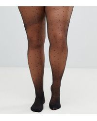 f0087b4571022 Pretty Polly - Pin Spot Curve Tights - Lyst