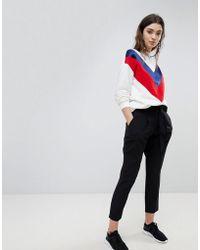 New Look - Tie Waist Trouser - Lyst