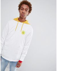 Stussy - Long Sleeve T-shirt With Hippie Circle Back Print - Lyst