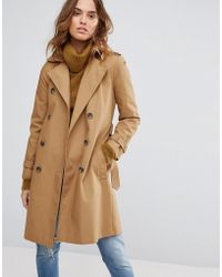 Warehouse - Trench Coat - Lyst