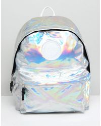 Hype - Holographic Backpack - Lyst