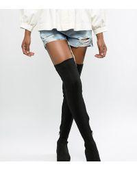 03e6c7d435b Lyst - Thigh-High Boots - Women s Designer Thigh-High Boots