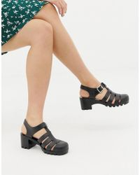 fe963552438a ASOS - Flying High Fisherman Jelly Sandals - Lyst