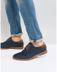 Call It Spring - Coanna Derby Shoes In Navy - Lyst
