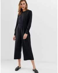 Pieces - Kennedy Relaxed Jumpsuit - Lyst