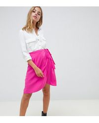 5f00afb11 Boohoo Tiered Tulle Skirt in Purple - Lyst