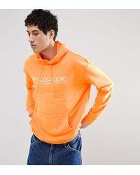 PUMA - Pullover Hoodie In Orange Exclusive To Asos - Lyst