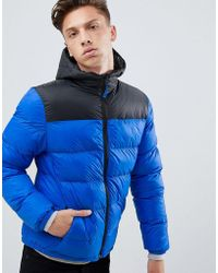 Tokyo Laundry - Panelled Puffer Jacket With Hood - Lyst