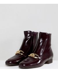 Free People - Emerald City Buckle Front Ankle Boots - Lyst
